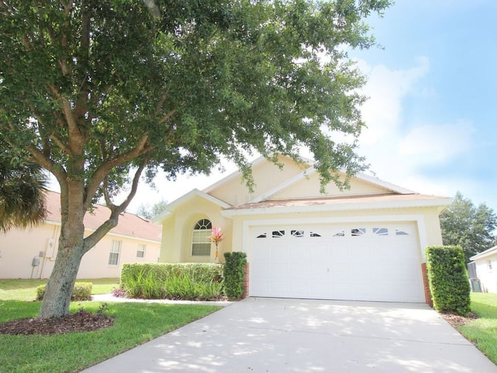 AMAZING HOME WITH 4 BEDROOMS AT DISNEY WORLD -2619