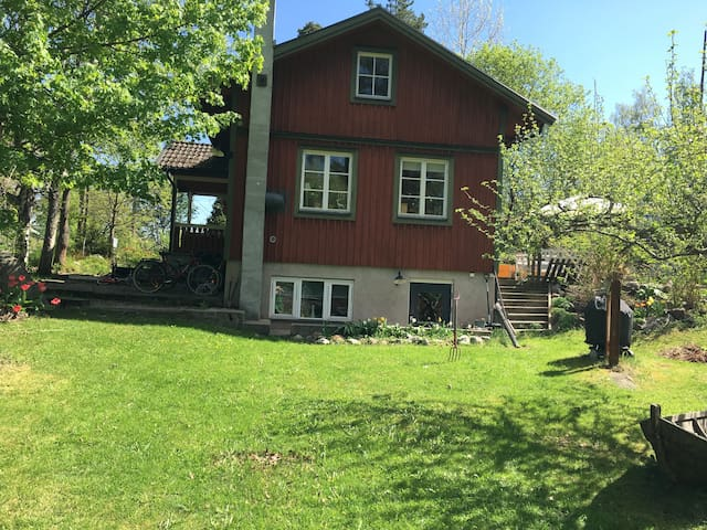 Charming house on island close to Stockholm city!