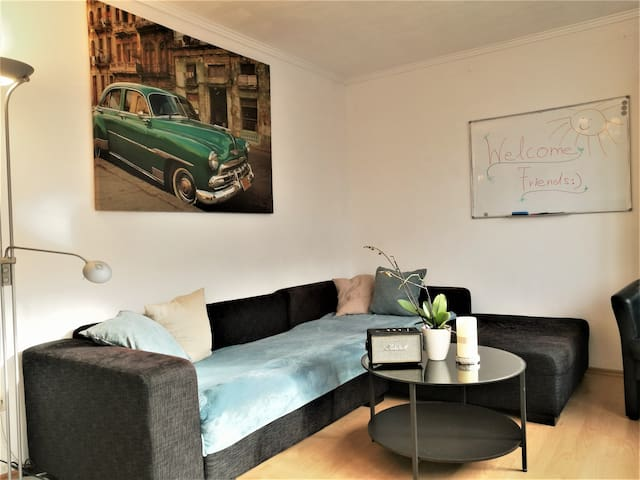 "Feelgood appartment in city center ""Schwabing"""