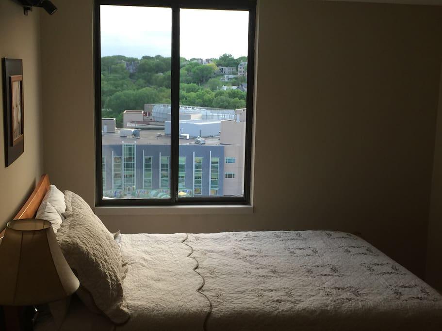Queen size Simmons Beauty Rest mattress