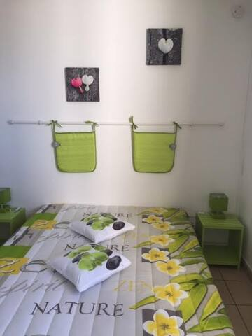 STUDIO MEUBLE - HEBERGEMENT REUNION - Sainte-Clotilde - Apartmen