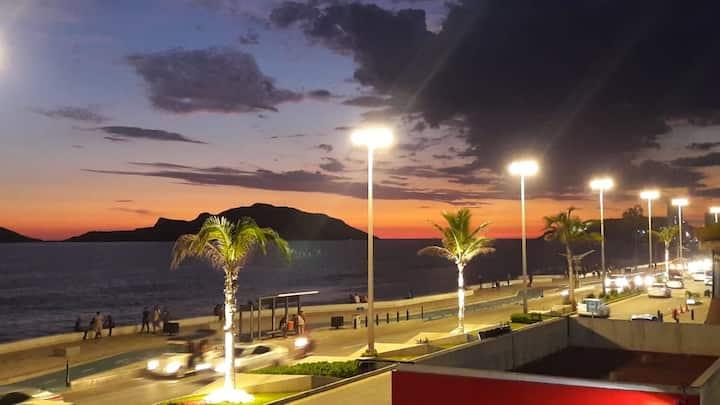 Espectacular vista  Condominio  Frente al Mar