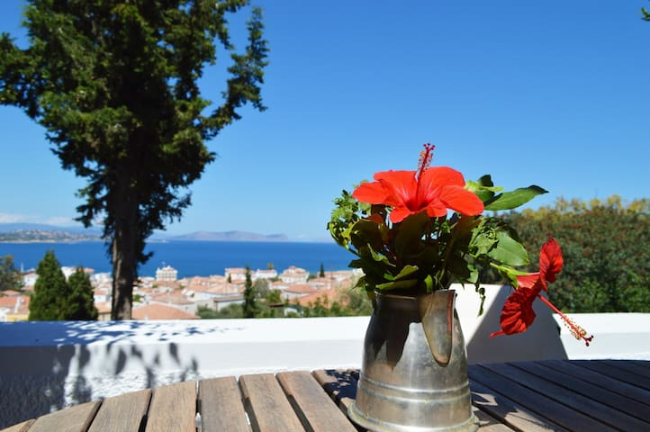 Beautiful island house with magic view in Spetses - Spetses - Apartamento