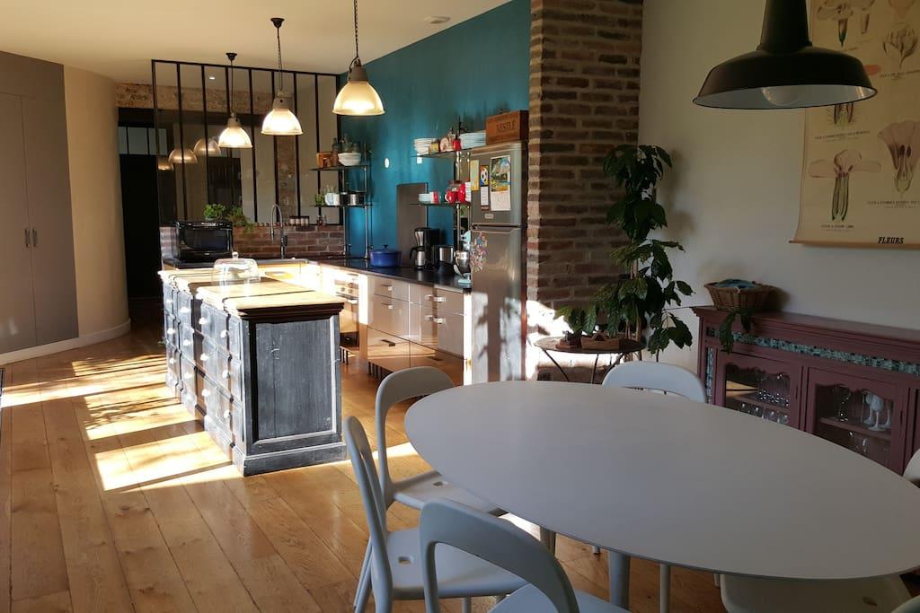 Magnifique maison loft avec jardin h user zur miete in - Maison jardin fontenay sous bois lille ...