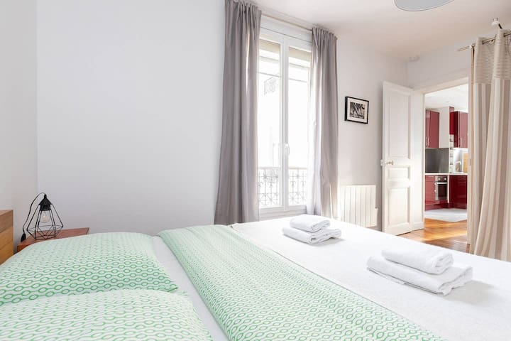 Charming 1BR in the Heart of Paris - La Bastille