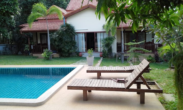 Baan Saowanee Orchard View Pool Villa (2 Bedroom)