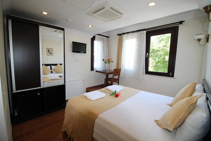 Deluxe Double Room with Park View / Sultans Hotel