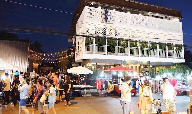 Oxotel_Hostel-Garden-Cafe_Chiangmai - Hai Ya - Dorm
