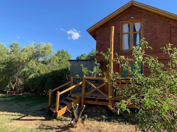 La Nueva Hidalgo, bella cabaña para descansar.