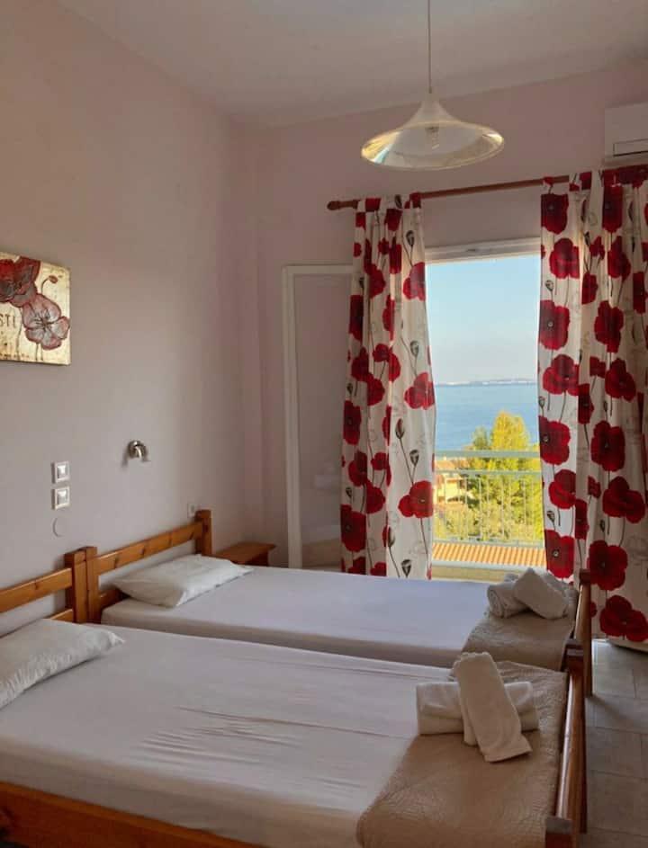 Your place at Barbati 10!! (sea view)