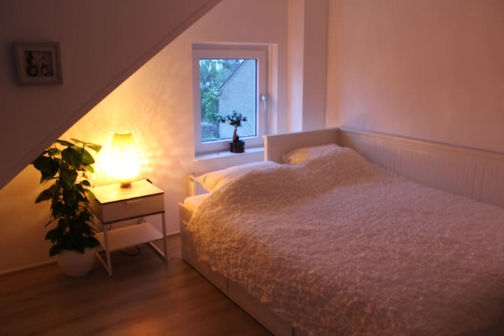 Comfortable, peaceful and separate attic room