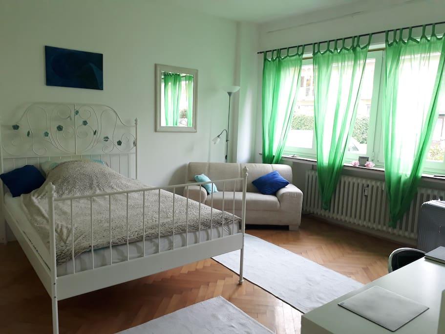 Private room near UN Campus (800m) only for women Wohnungen zur Miete in Bonn, Nordrhein