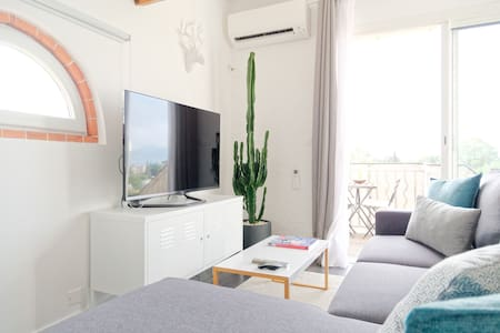 Cannes, atypical studio, sea view, air conditioned - Cannes - Apartmen