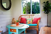 Perfect spot to sip your morning cup of joe!
