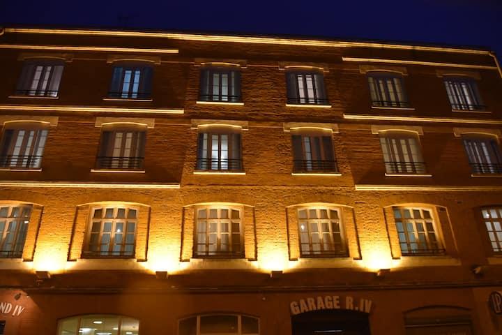 Classic simple hôtel de charme au cœur de Toulouse