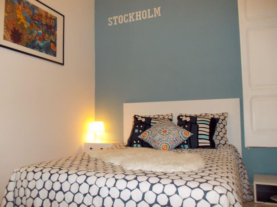 """Bedroom """"Stockholm"""""""