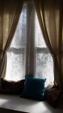 Cosy bohemian one-bedroom flat - Edimburg - Pis