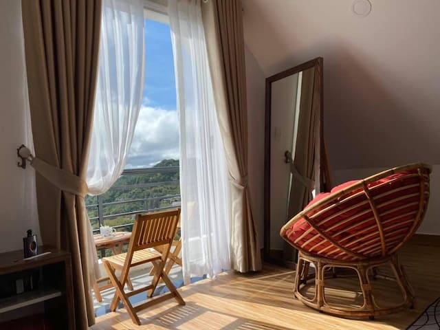 Đà Lạt Gốm Hotel - private room,balcony, view (03)