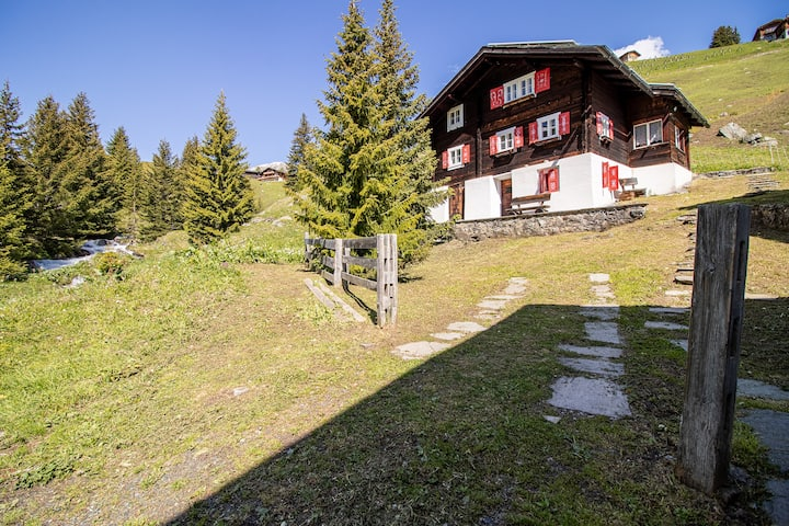 Chalet Büdemji - rustic chalet in the mountains