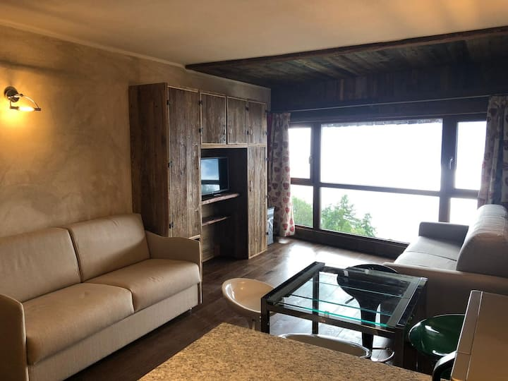 Brand new studio apartment directly on the slopes!