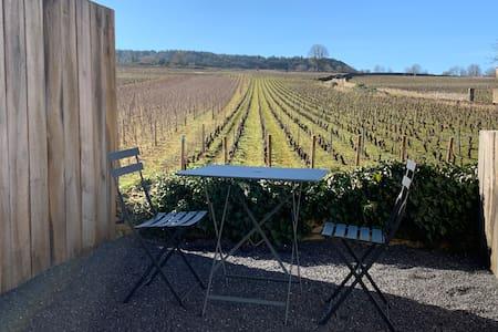 Côté Coteau: cosy appartement vue vignes, terrasse