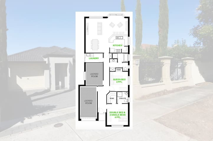 Floor plan for entire house