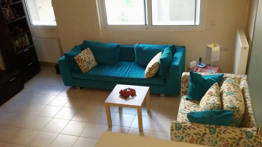 Elegant 1bedroom apartment with free parking spot - Iraklio