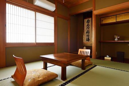 吉野のお寺に泊まる