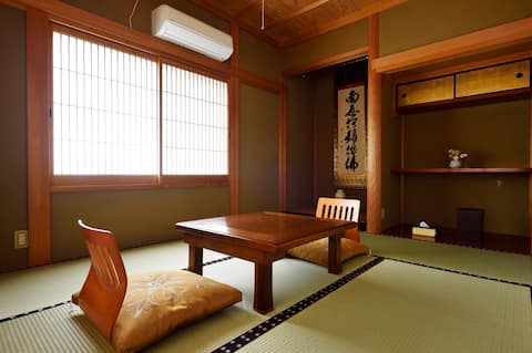 Stay in a Buddhist temple in Yoshino