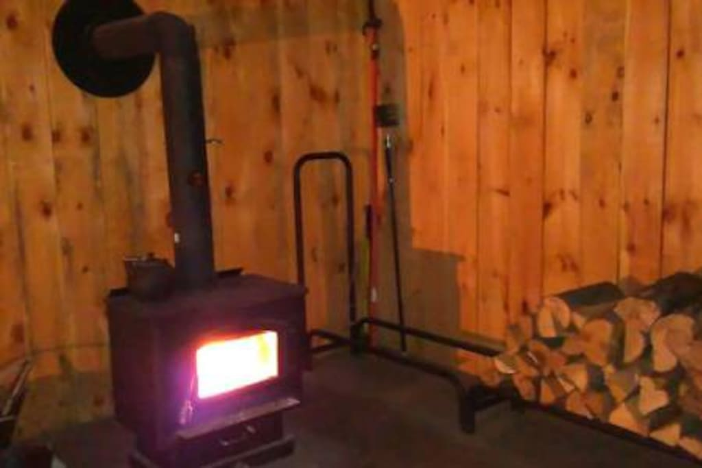 WoodStove for heating apartment