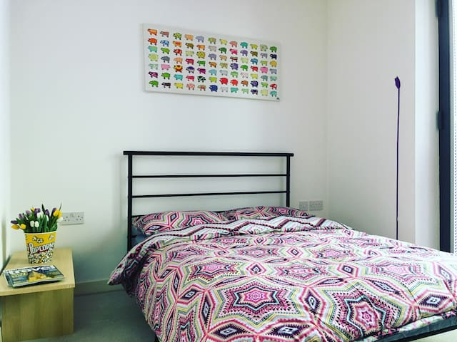 Fabulous Double Bedroom in Piccadilly M1 - Manchester - Lägenhet