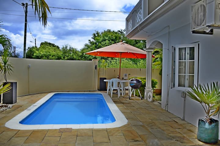 Spacious villa for 2 to 12 people at Pereybere