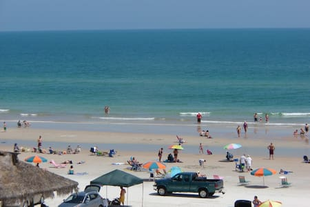 Ocean Front Beach Condo - Daytona Beach Shores
