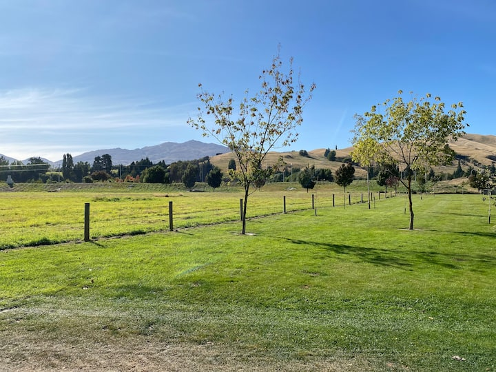 Wide open spaces and comfortable living