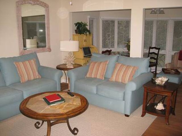 Turtle Cove 2BR villa with full resort amenities - Kiawah Island