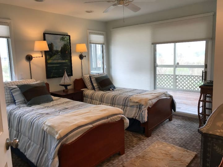 Bedroom #4 in Airy Beach House Retreat