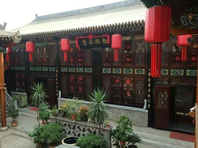 景致风情古城古典楼阁 - Jinzhong Shi