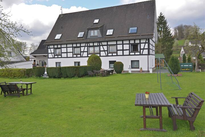 Charming Apartment in Attendorn-Silbecke with Fenced Garden