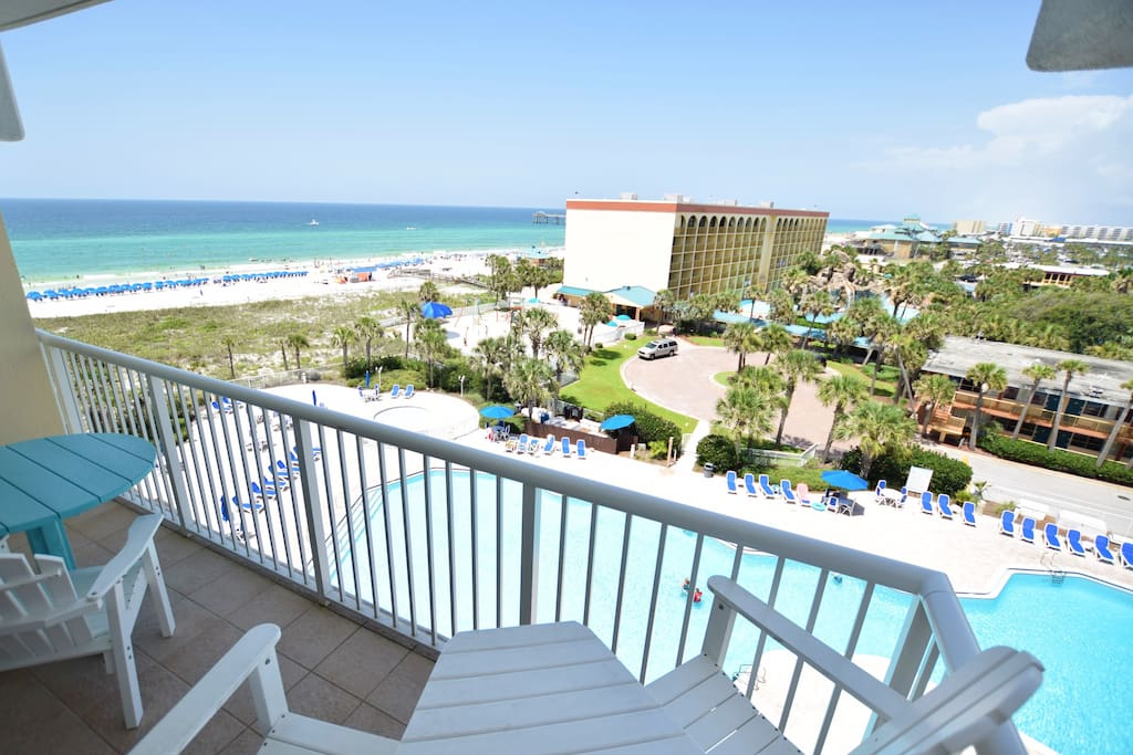 Destin West Gulfside #607: Balcony View