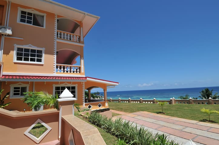 Au Fond De Mer View - 1 bedroom apartment seaview - Anse Royale - Apartment