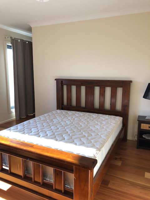 A beautiful big master bedroom