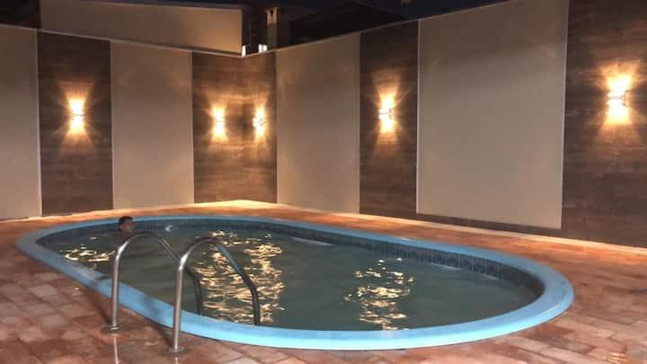 Casa confortável churrasqueira e piscina