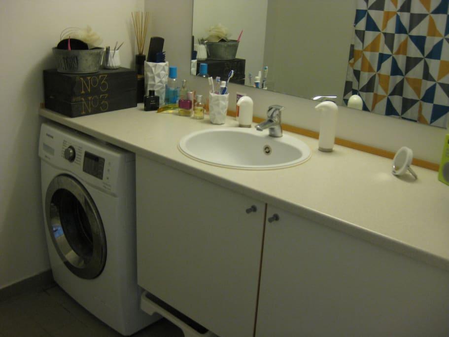 Bathroom + washing