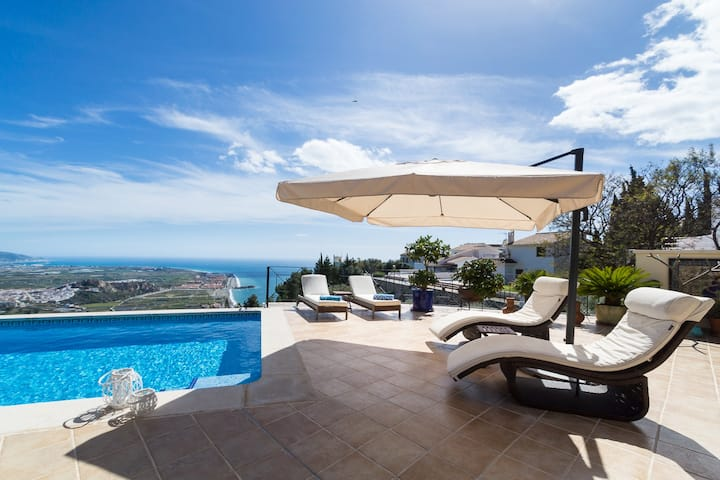 Villa Aura with private pool and amazing views