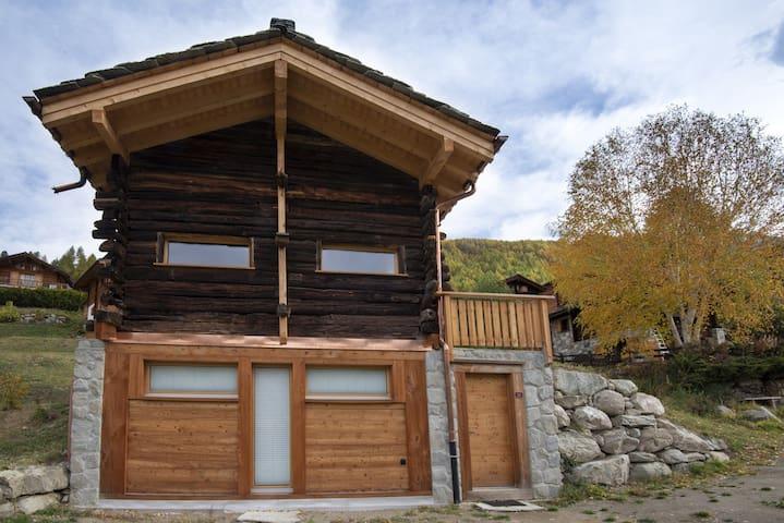 Mayen de Catherine, Val d'Hérens, Valais, Suisse