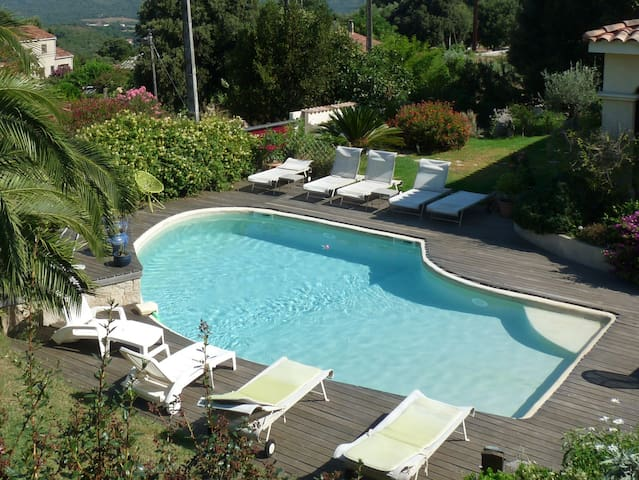 Villa 130 m2 air-conditioned, pool - Sartène - House