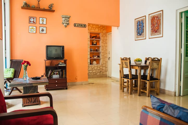 Sunny and spacious private appartment - La Habana - อพาร์ทเมนท์