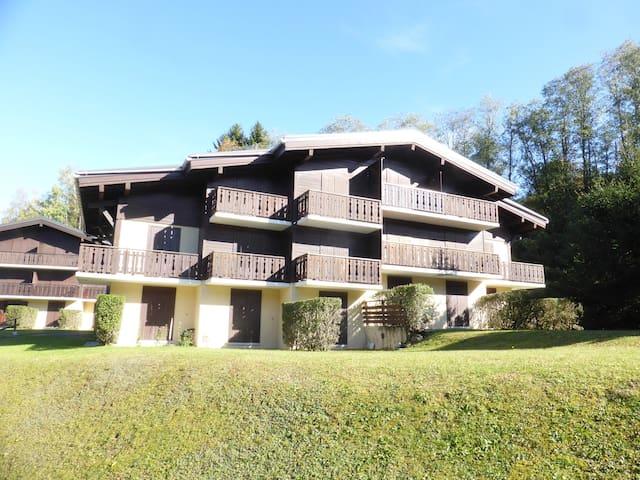 Appart Abordable, Ski L'Evasion Mont-Blanc | Local à Ski + Parking Gratuit