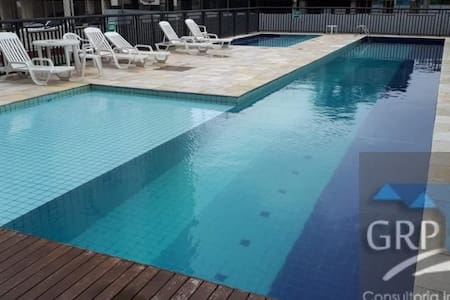 Apartamento em SBC-SP , piscina e varanda gourmet
