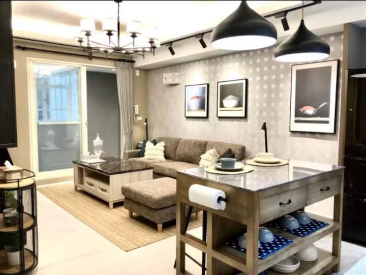 「Slow B&B 漫心 」整套公寓 安心住無接觸  開放式廚房 適合4~6人入住 近七星潭風景區